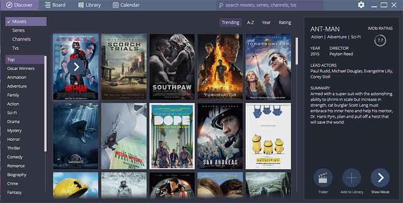 Δείτε ταινίες online από την πλατφόρμα του STREMIO stremio 1
