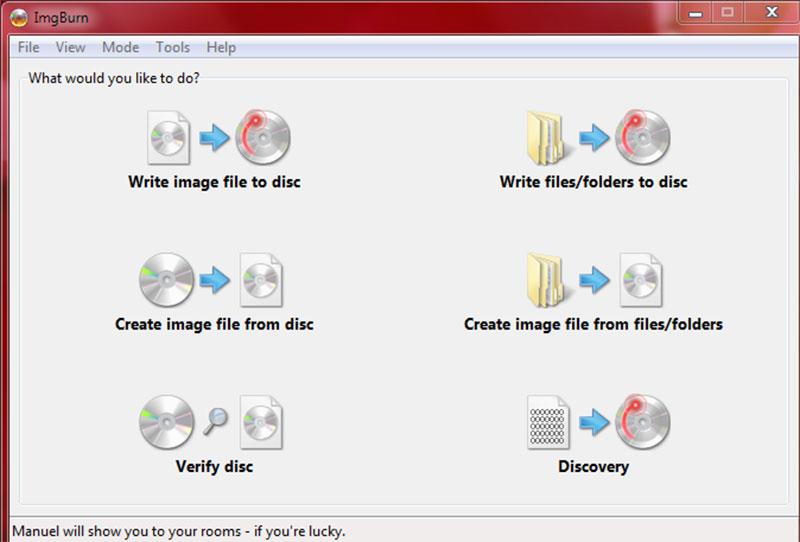 Πως φτιάχνουμε ISO αρχεία με το πρόγραμμα ImgBurn IMGBURN-5
