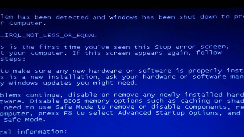Τι κάνουν τα anti malware προγράμματα και γιατί είναι απαραίτητα bluescreen