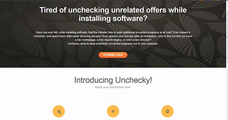 Εγκατάσταση προγραμμάτων με χρήση του Unchecky unchecky_screen