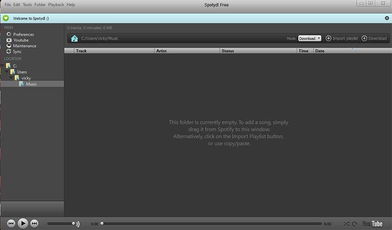 Πως να ακούσουμε ή να κατεβάσουμε μουσική από το Internet με το Spotify spotify-11