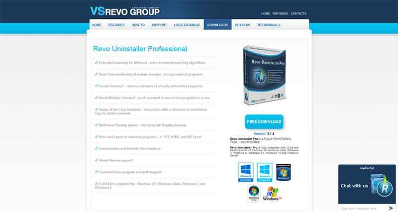 Απεγκατάσταση προγραμμάτων με το Revo Uninstaller REVO-4
