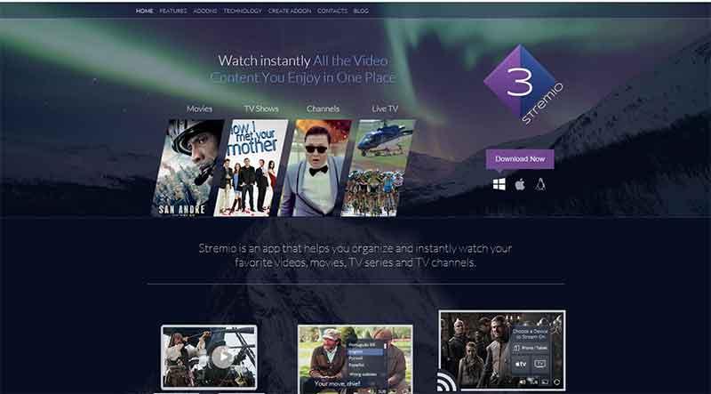 Δείτε ταινίες online από την πλατφόρμα του STREMIO STREMIO-2