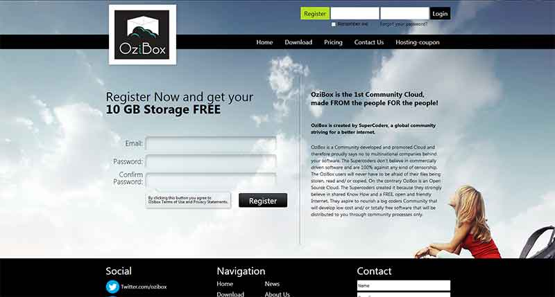Δωρεάν αποθήκευση backup και συγχρονισμός αρχείων στο Internet 5-ozibox