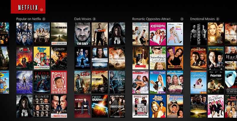 Netflix Ταινίες μέσω Internet με χαμηλή μηνιαία συνδρομή 1-netflix