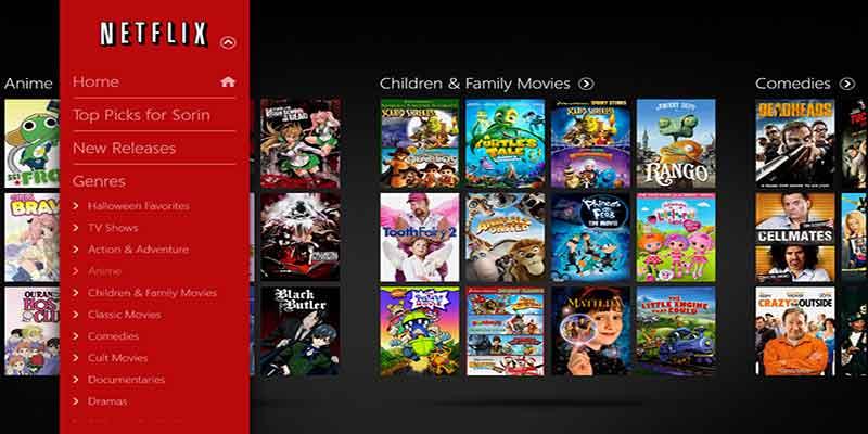 Netflix Ταινίες μέσω Internet με χαμηλή μηνιαία συνδρομή 6-netflix