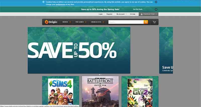 Δωρεάν παιχνίδια για τον υπολογιστή από την Electronic Arts 2-games