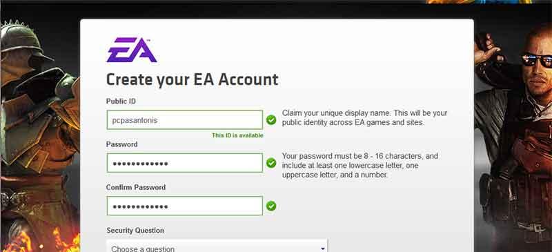 Δωρεάν παιχνίδια για τον υπολογιστή από την Electronic Arts 4-games
