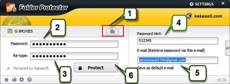 Πώς κλειδώνουμε έναν φάκελο ώστε να ανοίγει μόνο με κωδικό folder_protector