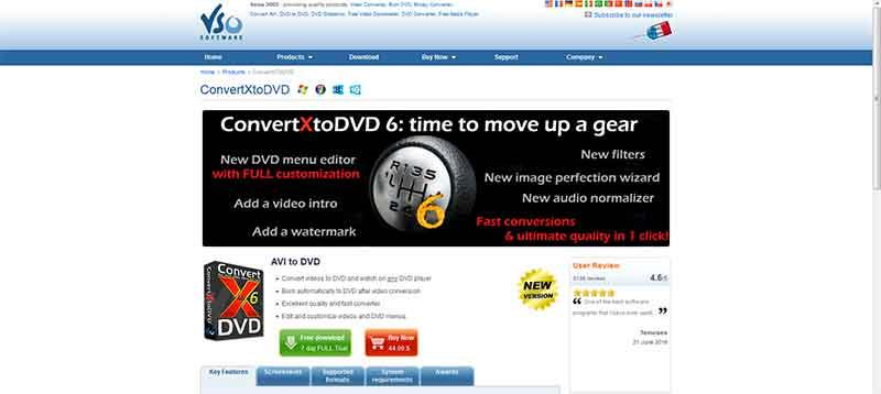 Εγγραφή ταινίας σε δίσκο DVD 1-convertX