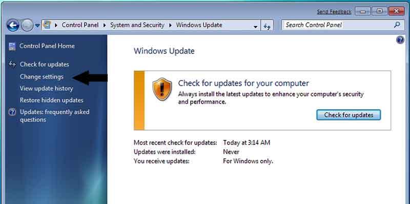 Απενεργοποίηση των ενημερώσεων update στα Windows 10 1-windows-update